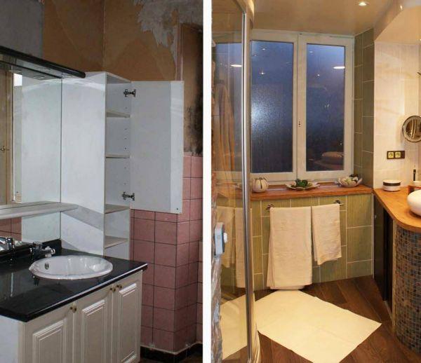 Avant / Après : Une salle de bains vétuste transformée en paradis zen