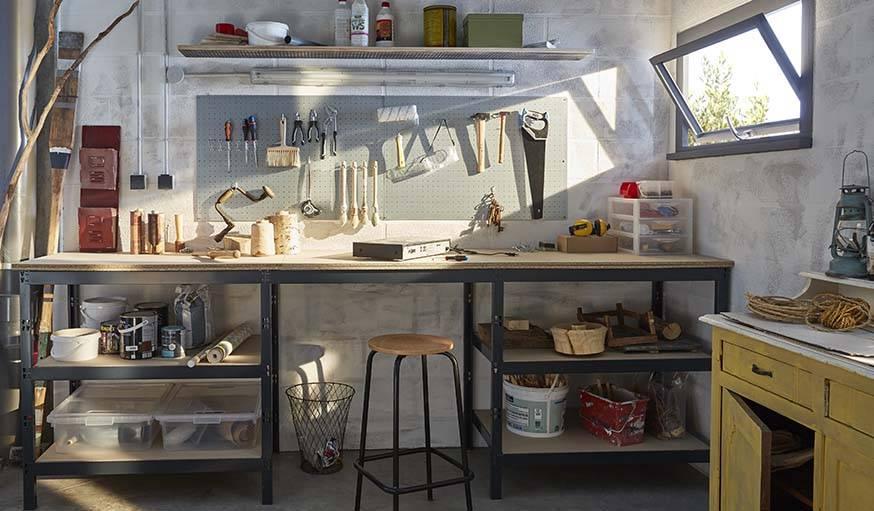 Bien Ranger Ses Outils Dans Son Garage Meuble Modulable Pour Amenager Un Atelier 18h39 Fr