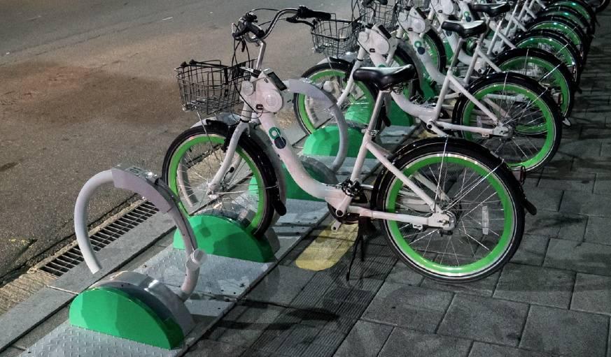 À Séoul, les vélos aussi se partagent.
