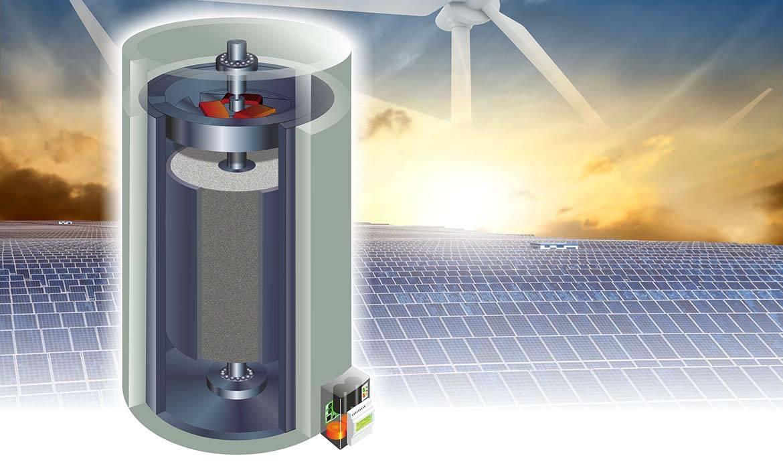 Ce béton permet de stocker l'énergie solaire.