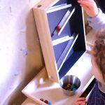 Fabriquez un circuit de billes de bois inspiré par Montessori.