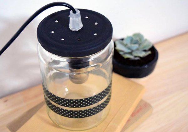 Très Luminaire Diy Lampe Fabriquez Bocal Jolie Une Design Et ED92HIWY