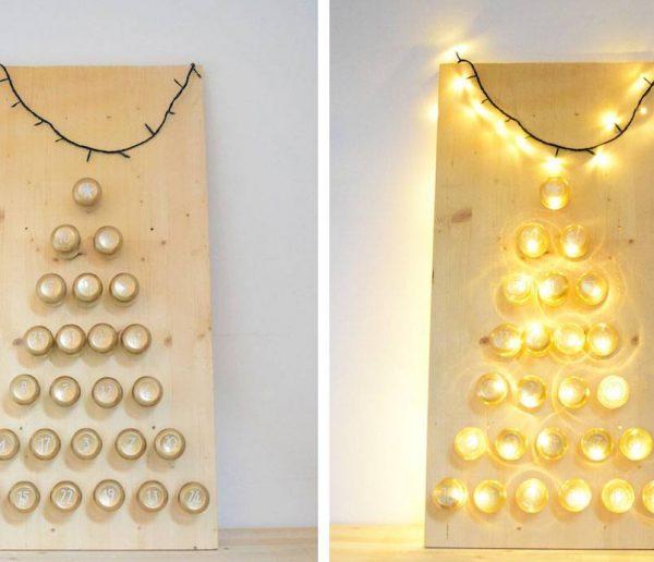 DIY : Fabriquez un calendrier de l'avent en mode récup' pour cacher plein de surprises !