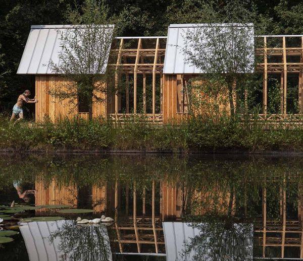 Cette cabane de jardin cache une incroyable verrière