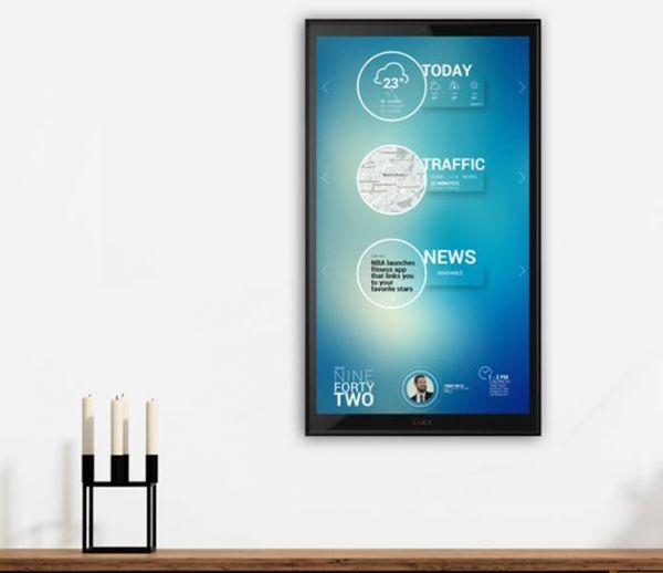 Discuter avec L.U.C.Y, l'écran connecté qui pilote la maison