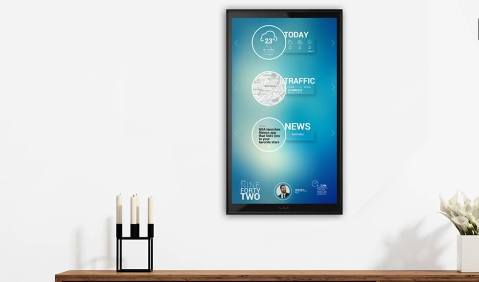 objets connect s un cran connect pour organiser le quotidien. Black Bedroom Furniture Sets. Home Design Ideas