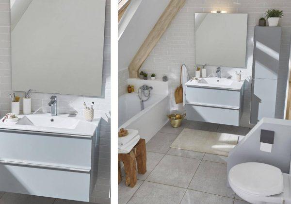 Optez pour une salle de bains belle ET facile à nettoyer