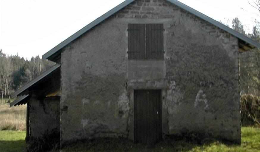La façade nord-ouest avant les travaux.