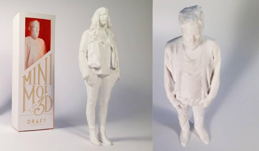 Figurine imprimée en 3D.