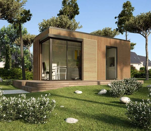 Installer un studio en conteneurs made in France dans son jardin