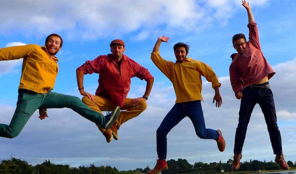 Quatre Bretons embarquent pour un tour du monde zéro déchet