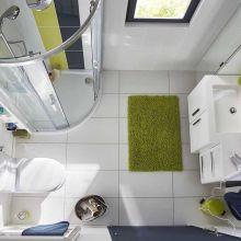 Sélection de meubles pratiques pour salle de bains compacte