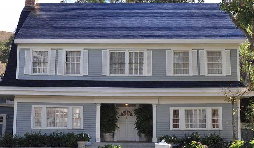 solaire tesla d voile un toit solaire qui sera beau solide et pas cher. Black Bedroom Furniture Sets. Home Design Ideas