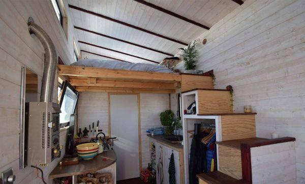 Ils construisent une tiny house connectée pour sensibiliser à l'écologie