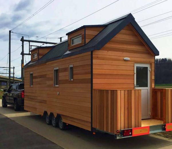 20 m² et 2 enfants : la vie en famille dans une tiny house