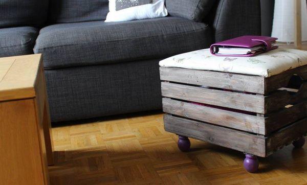 DIY : Fabriquez un pouf très pratique avec rangement intégré