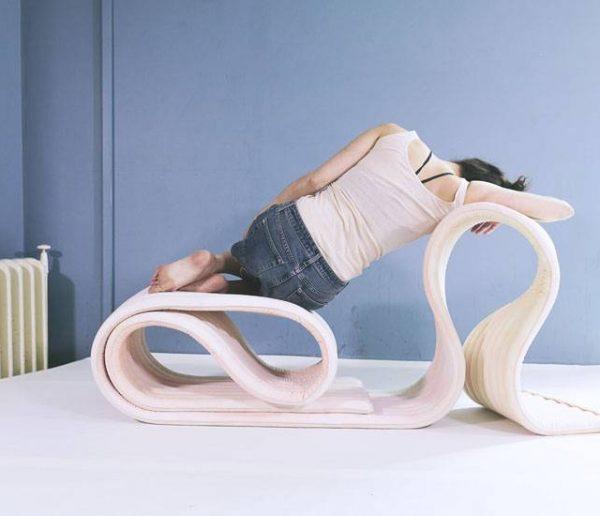 Découvrez The Body la chaise souple qui suit vos envie