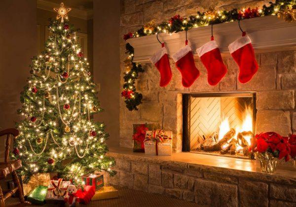 The Yule Log  à Noël, les Américains regardent un feu de