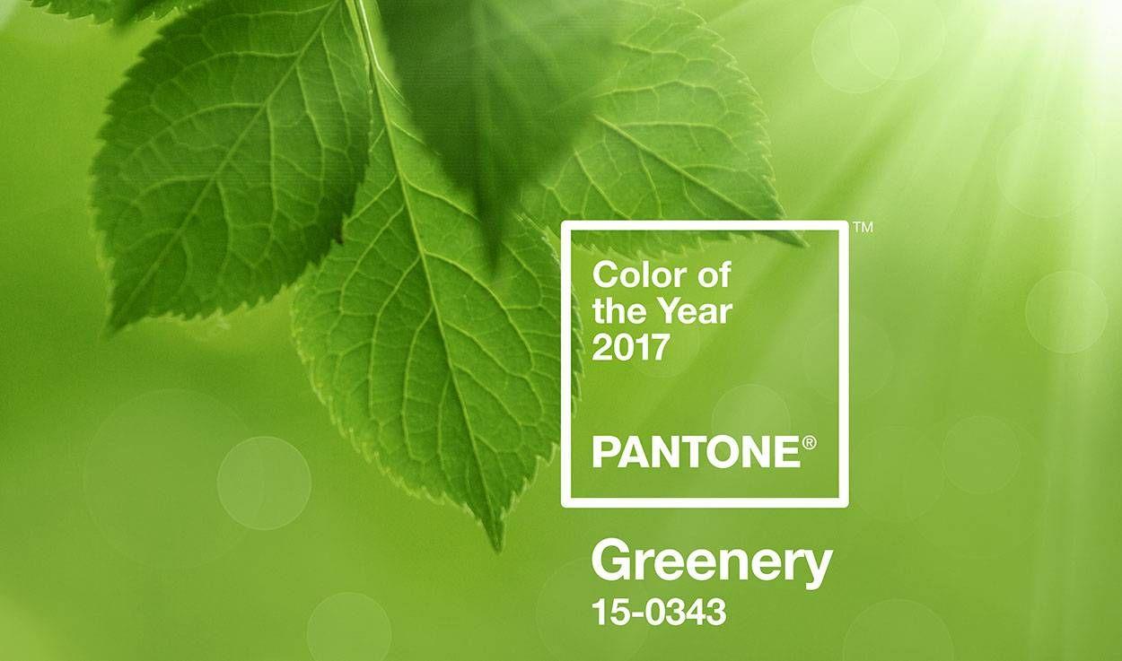 Le vert Greenery, la couleur Pantone de 2017