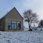 Cette maison passive est située à Coglès, en Ille-et-Vilaine.