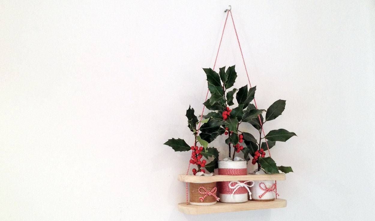 DIY : Fabriquez petite étagère récup' pour zéro euro
