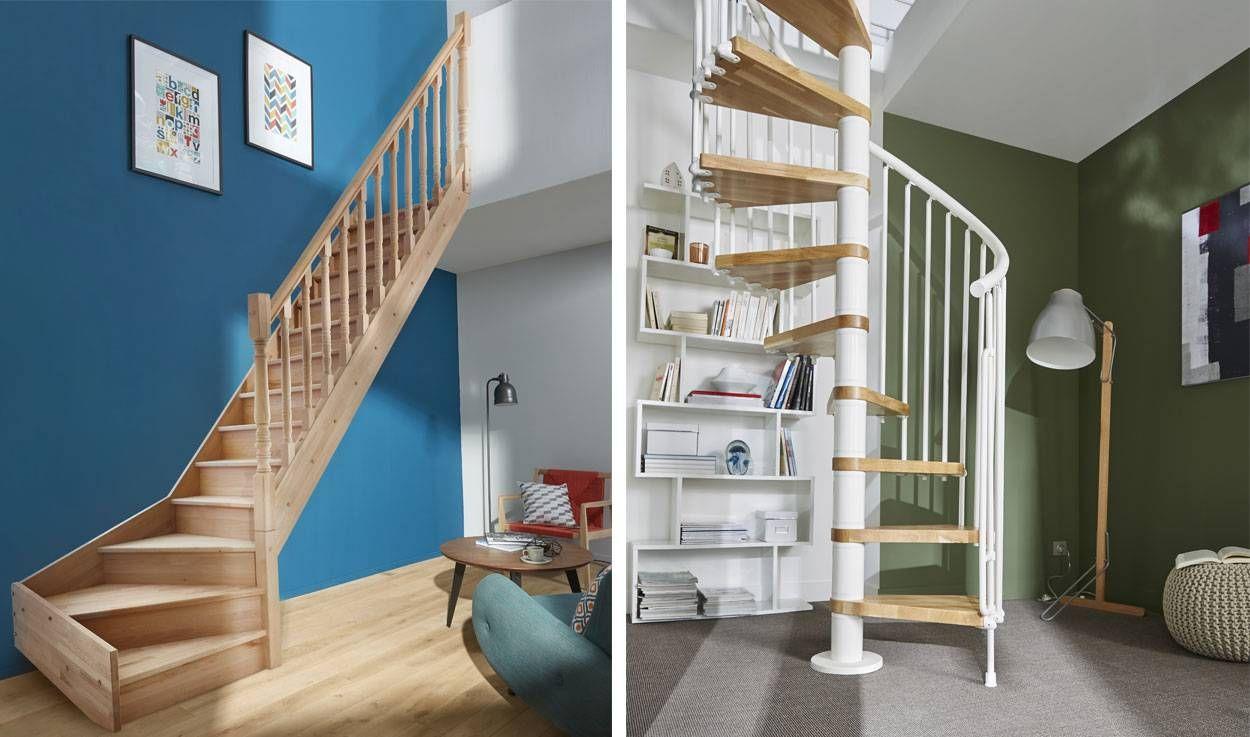 4 questions pour bien choisir son escalier for Escalier interieur castorama