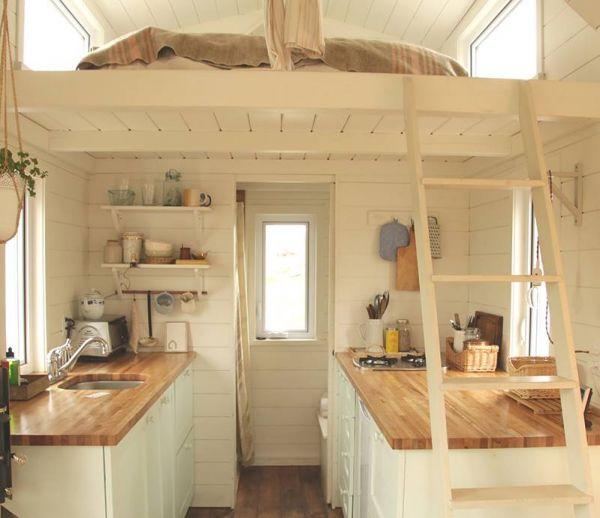 Une adorable micro-maison près du fleuve Saint-Laurent