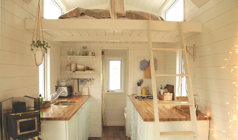 Vivre dans une tiny house emmenager dans une tiny house - Vivre en mobil home ...