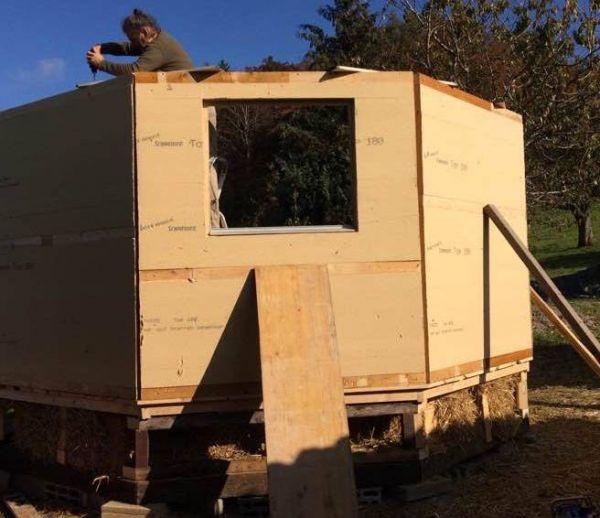 En Suisse, des tiny houses pour loger les SDF
