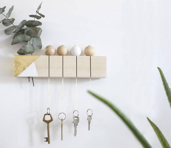 DIY : Fabriquez facilement un superbe accroche-clés tendance