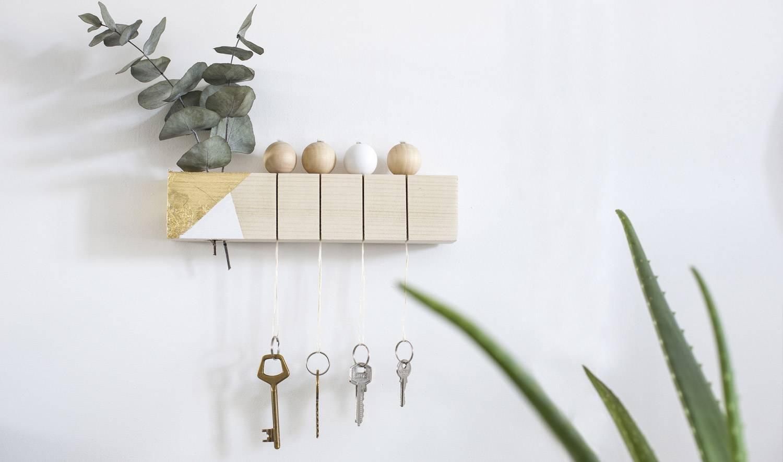 Fabriquer Porte Clé Facile diy - un accroche-clé tendance et facile à fabriquer