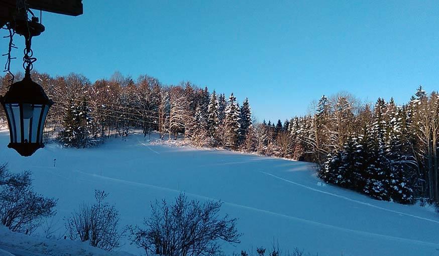 La neige aussi bleue que le ciel, le 10 mars.