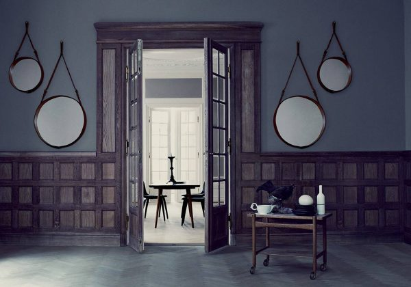 Idée déco : Miroirs suspendus - Notre sélection de miroirs ...