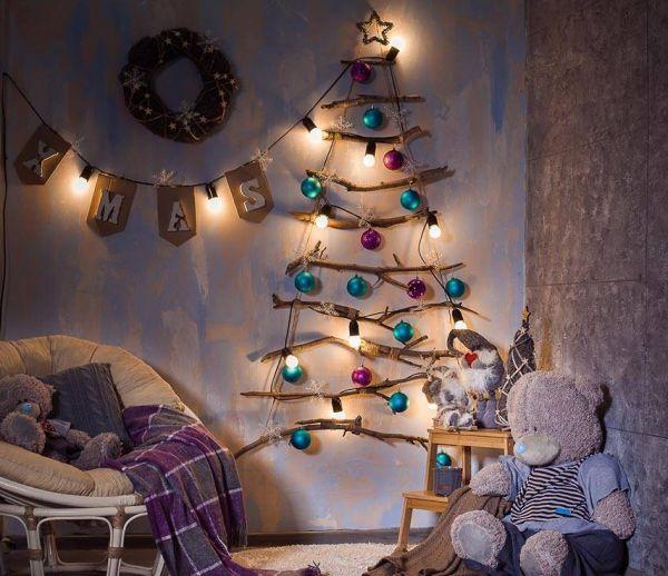 DIY : Les 18 plus beaux sapins à fabriquer soi-même pour Noël