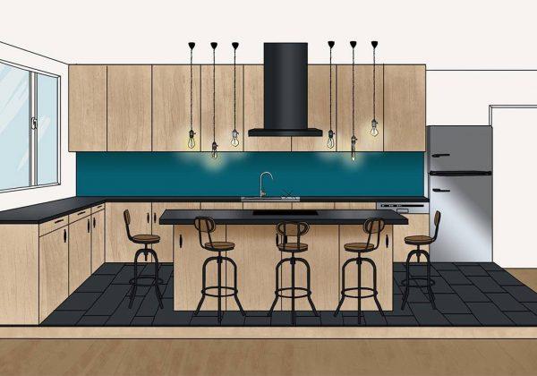 Plans d\'architecte pour un îlot de cuisine de rêve ...