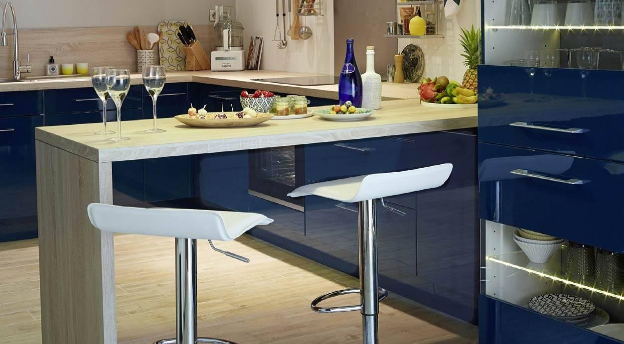 le plan snack la table de cuisine qui s adapte toutes les envies. Black Bedroom Furniture Sets. Home Design Ideas