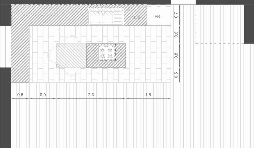 Plans D Architecte Pour Un Ilot De Cuisine De Reve