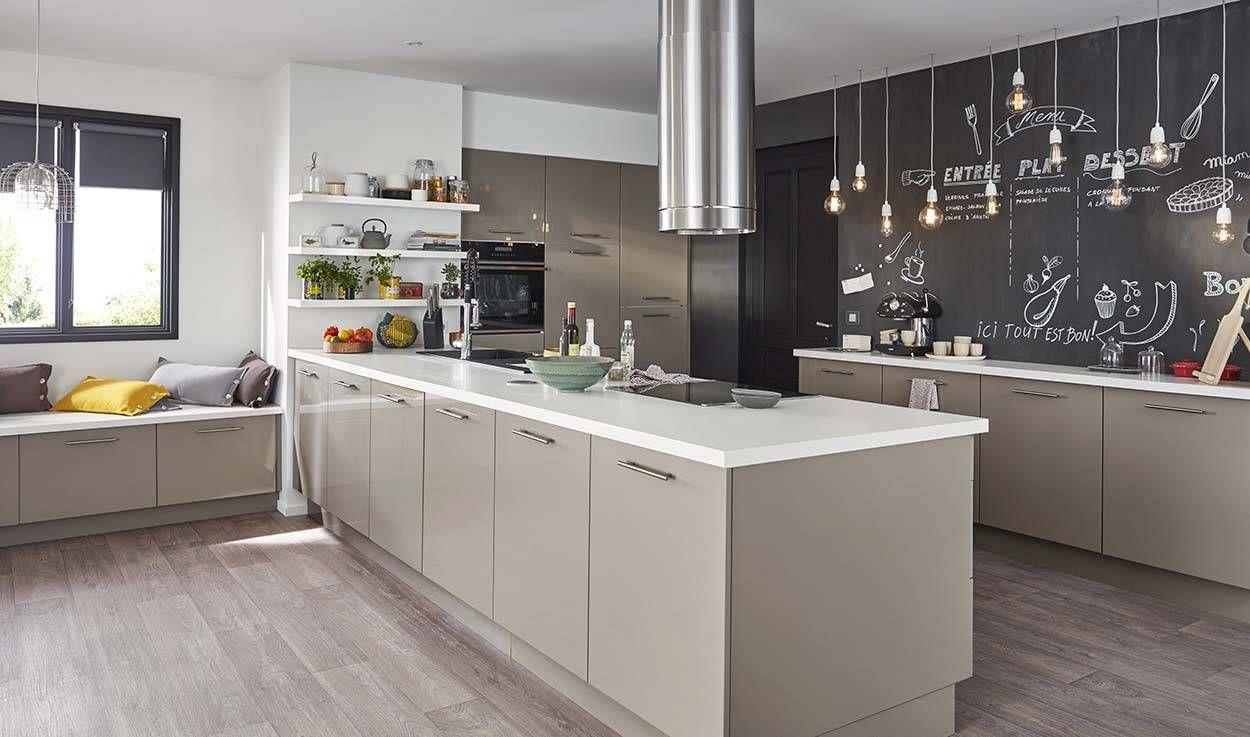 Un lot dans ma cuisine c est possible conseils pour un lot de cuisine - Ilots central de cuisine ...
