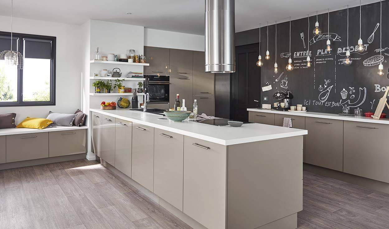 Comment Fabriquer Son Ilot Central un îlot dans ma cuisine, c'est possible ? - conseils pour un
