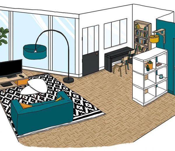 Comment aménager un salon avec une grande baie vitrée ?