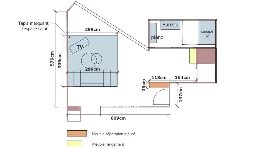ou placer sa tv dans le salon tlvision fixation au mur. Black Bedroom Furniture Sets. Home Design Ideas