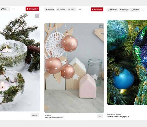 Déco de Noël : 3 styles, 3 ambiances