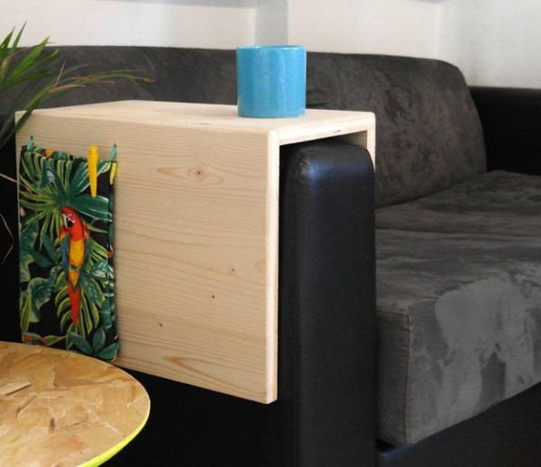 DIY : Fabriquez une petite table d'appoint pour votre canapé