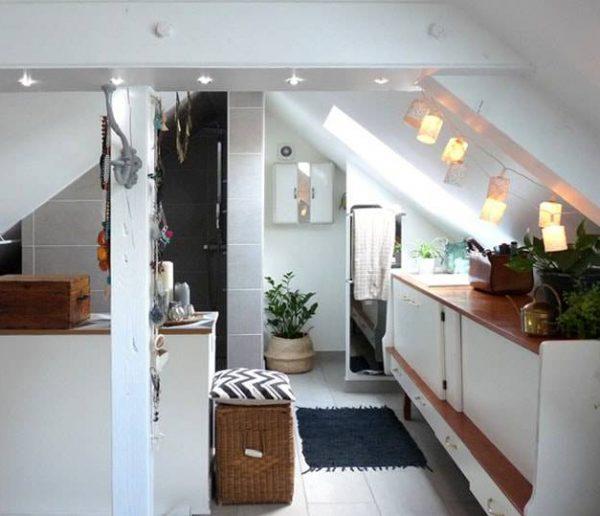 Avant / Après : lumière sur ce grenier aménagé en salle de bains