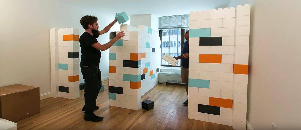 Un jeu de construction géant pour aménager votre intérieur