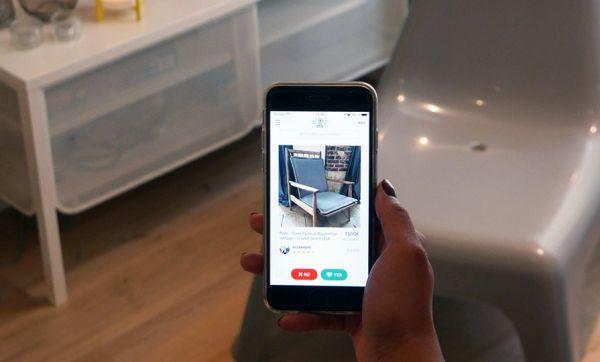 Tinder version meubles : une appli pour chiner autour de chez soi