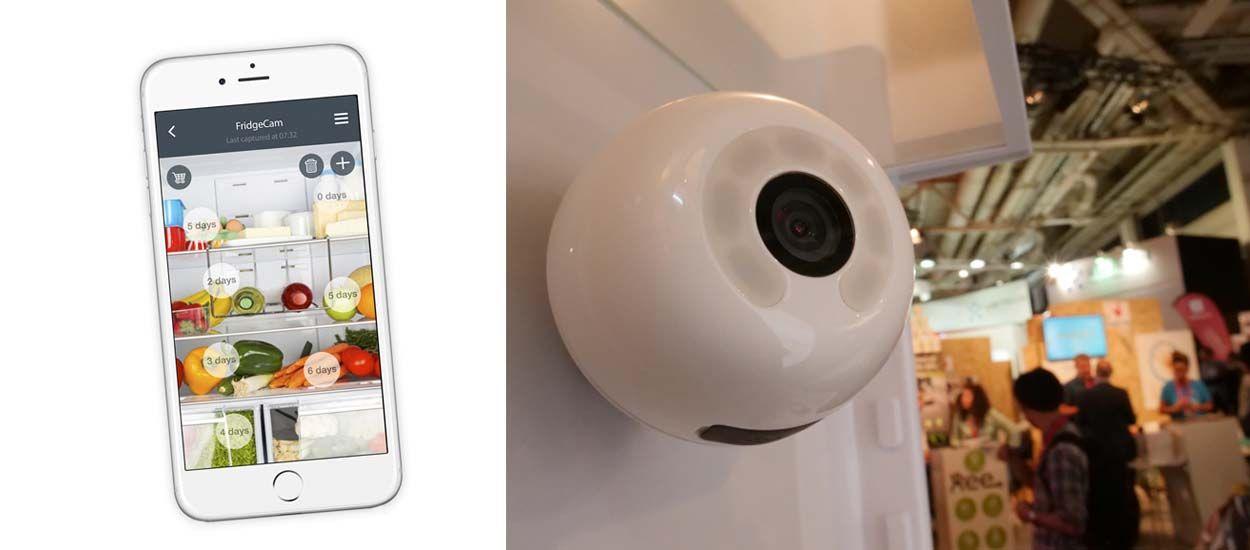 L'objet connecté anti-gaspi : une caméra connectée dans le réfrigérateur