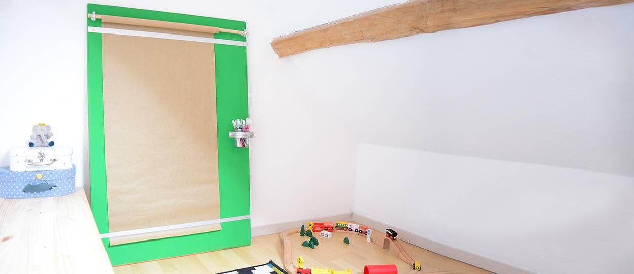 DIY : Fabriquez une planche à dessin pour enfant artiste en herbe