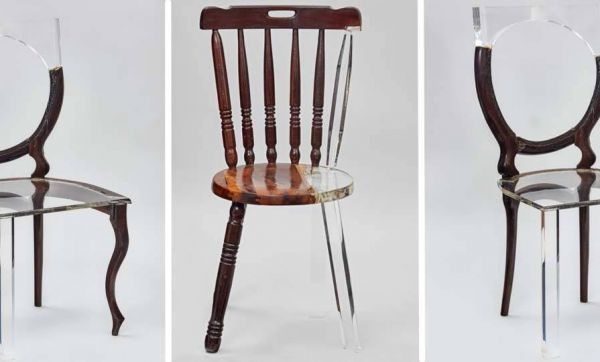 Elle redonne vie à du mobilier, entre tradition et modernité