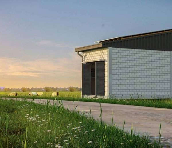 Une maison écologique avec wifi pour 8 000 euros